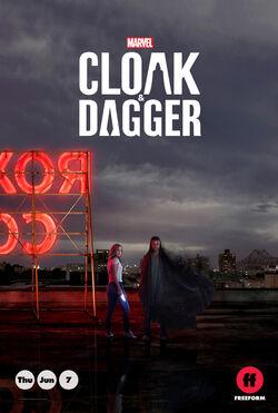 Marvel's Cloak & Dagger poster 02