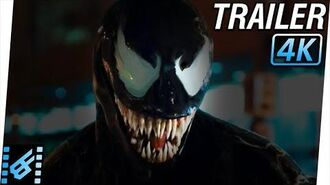 VENOM Trailer (2018) 4K Ultra HD Tom Hardy, Michelle Williams, Riz Ahmed