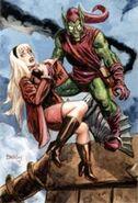 Green Goblin & Gwen Stacy