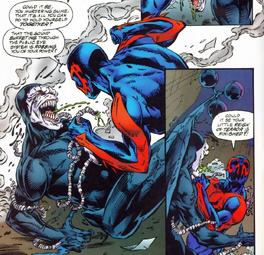 Miguel vs Venom 2099