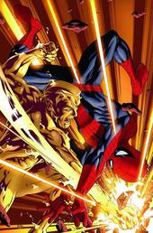 Hombre Ígneo VS Spider-Man CW