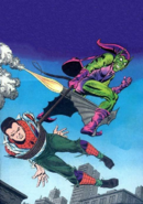 Spider-Man unmasked by the Green Goblin