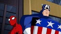 Team-up spidey-cap