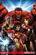 Unused Cover for Avengers Vol. 4 -9