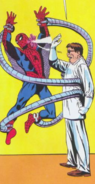 Peter Parker's first battle with Doc Ock