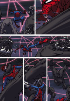 Spider-Man Reign vs Venom