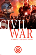 Civil War comic Poster