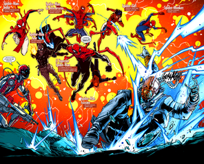 Spider-Men vs Karn