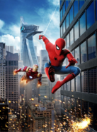 SMH Spider-Man and Iron Man Poster