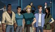 The S.H.I.E.L.D. trainees in their civilian appearances