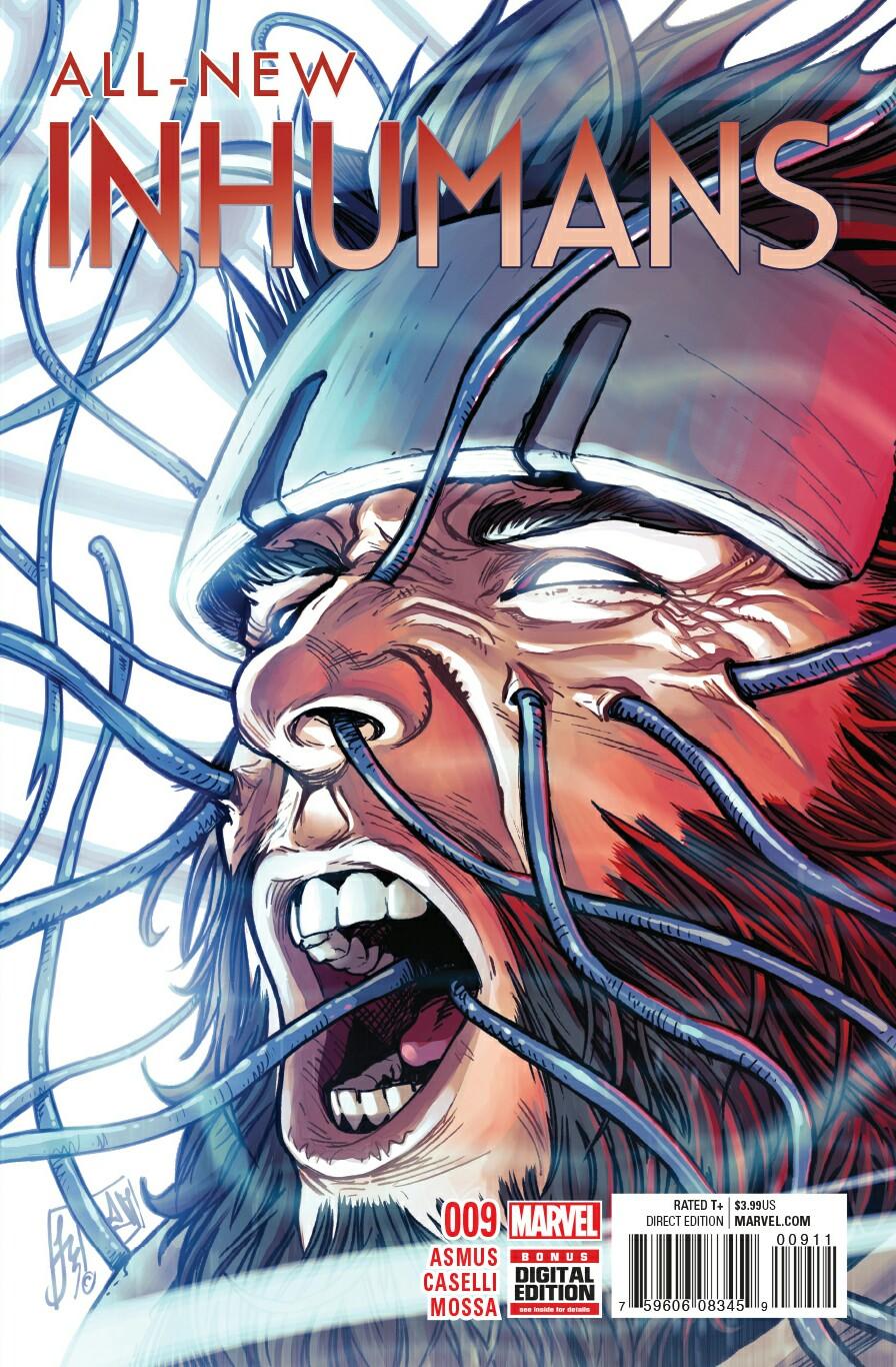 All-New Inhumans (Volume 1) 9 | Spider-Man Wiki | FANDOM powered by