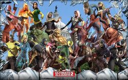 Marvel Ultimate Alliance 2 by byakugan2495