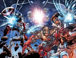 Stark vs Rogers