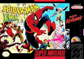 Spider-Man and the X-Men - Arcade's Revenge Coverart