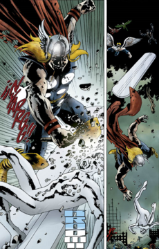 Thor vs Silver Surfer