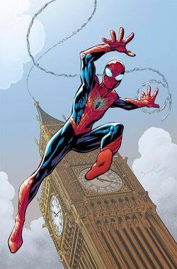 Amazing Spider-Man Vol. 4 -1 Bagley Variant textless