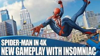 NEW Spider-Man Gameplay - Tips and Tricks with Insomniac in 4K!