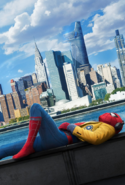 Textless Spider-Man Homecoming Teaser Poster