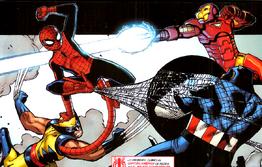 Spider-Monkey vs Ape-Vengers