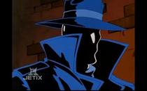 DXRD Caption of masked Hector Jones (Spider-Man Unlimited)