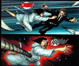 Alistaire mata a Marla