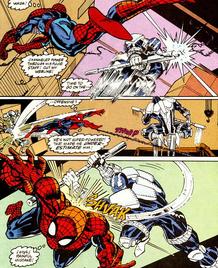 Cardiac vs Spider-Man