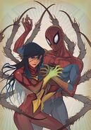 Jessica (Earth-616) & Spider-Man