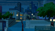 La Universidad Empire State de noche - Interactions