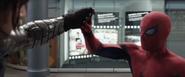 Spider-Man habla con Bucky