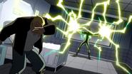 Electro desatando su poder en el hospital - Interactions
