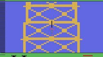 Spider-Man Atari 2600 - gamepay