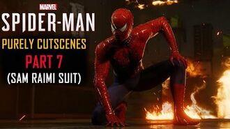 Spider-Man PS4 Part 7 Sam Raimi Suit(PURELY CUTSCENES)(Rhino, Vulture, Scorpion)