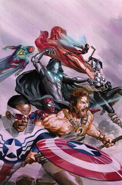 Avengers Vol. 7 -8 Textless