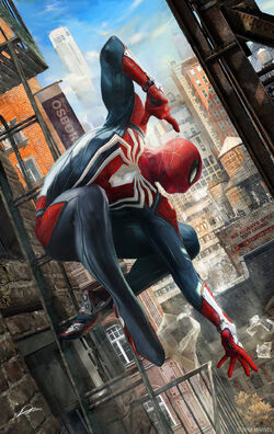 Marvel's Spider-Man Hostile Takeover Textless