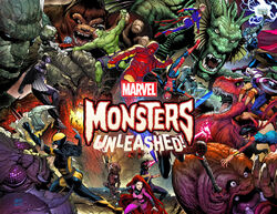 Monsters Unleashed promotional poster