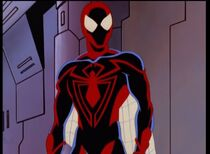 Spiderman unlimited closeup