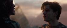 Peter se despide entristecido de Iron Man