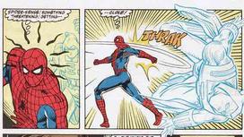 Spiderman sentido aracnido