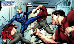 Steve combate