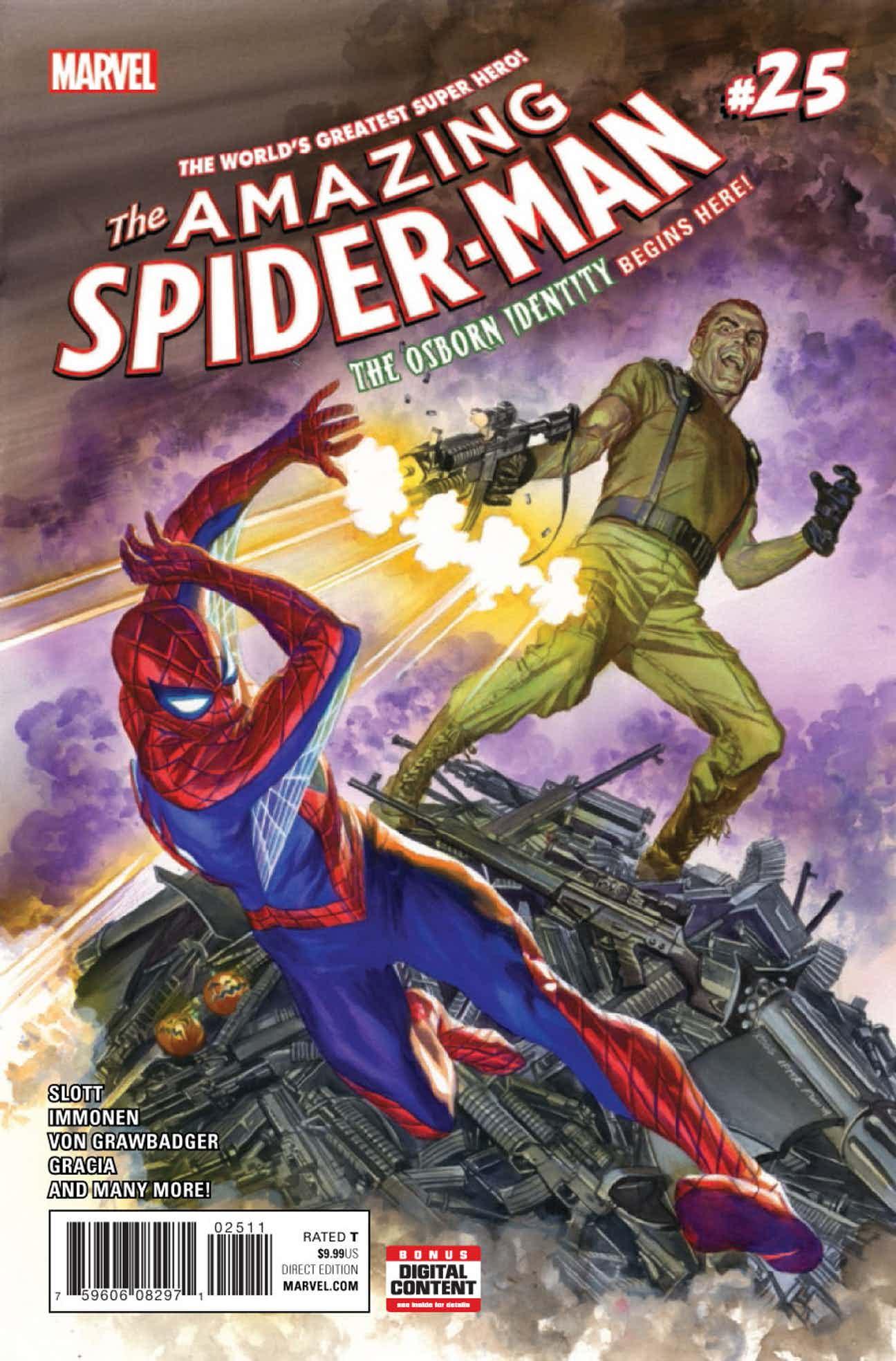 amazing spider man volume 4 25 spider man wiki fandom powered