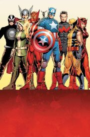 The Avengers Unity Division's second roster