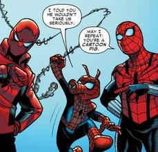 Spider-Ham y Spider-Men