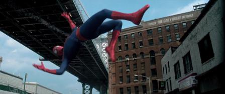 Spiderman reflejos