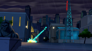 Electro se intenta acercar a Spider Man quien esta en una torre - Interactions