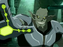 Norman Osborn as The Green Goblin.