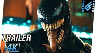 VENOM Trailer 2 (2018) 4K Ultra HD Tom Hardy, Riz Ahmed, Michelle Williams