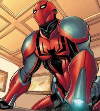 Spider-Man armadura seis siniestros