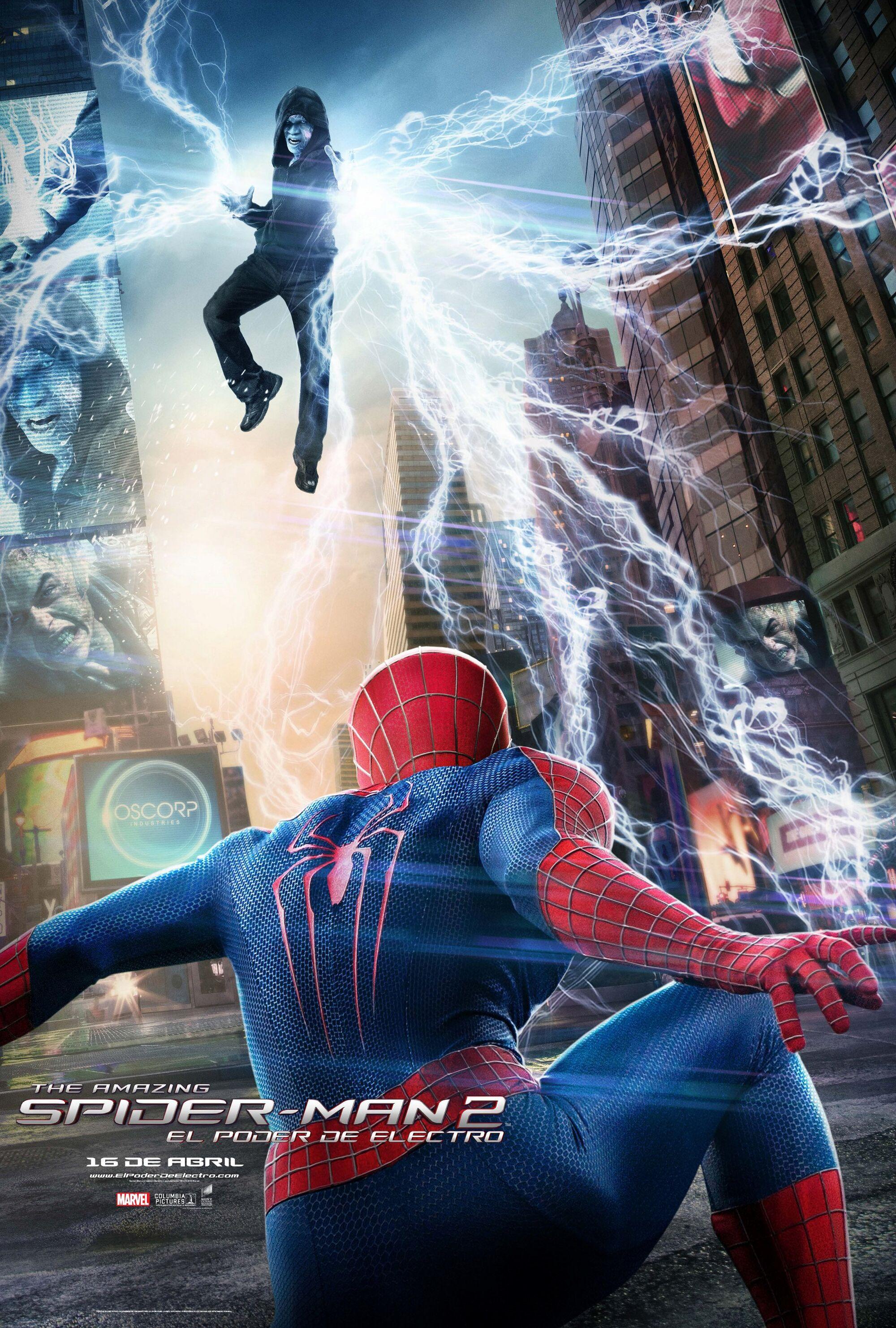El Sorprendente Hombre Araña 2: El Poder de Electro [2014] [1080p BRrip] [Latino-Inglés] [GoogleDrive]