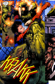 Spiderman vs Ultimates six