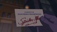 Cortesia de su amistoso vecino Spider Man - Natural Selection